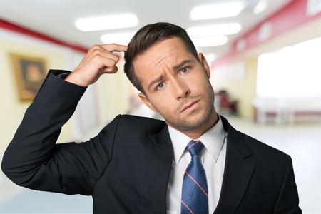 uncertainty: Confusion, Men, Business.