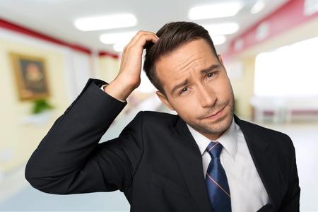 hombre pensando: Confusión, Hombres, Negocios.