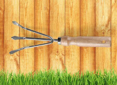 work tool: Gardening Equipment, Gardening, Work Tool. Stock Photo