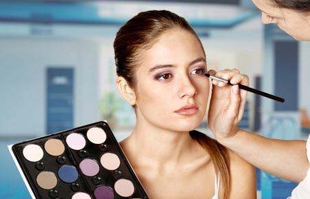 beautician: Make-up, Beautician, Cosmetics.