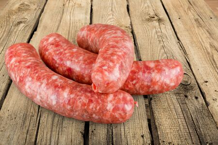 upperdeck view: Sausage, Chorizo, Raw.