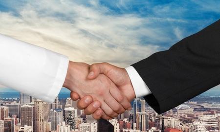 healthcare and medicine: Healthcare And Medicine, Handshake, Business.