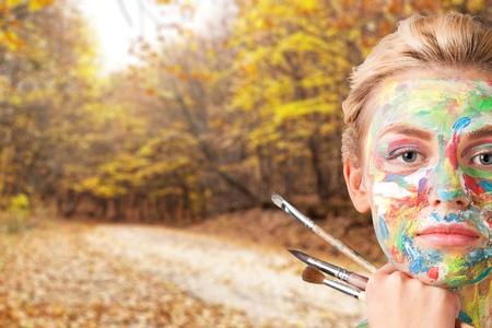 creativity: Artist, Creativity, Art. Stock Photo