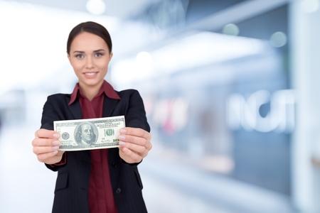 distorted image: Currency, Savings, Women.