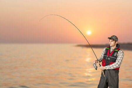 freshwater fishing: Fishing, Fisherman, Freshwater Fishing.