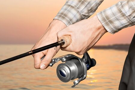 fishing reel: Fishing, Fishing Reel, Men.