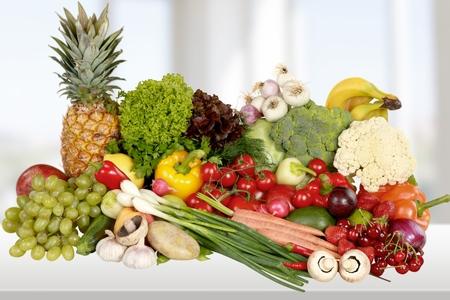 Vegetable, Fruit, Healthy Eating.