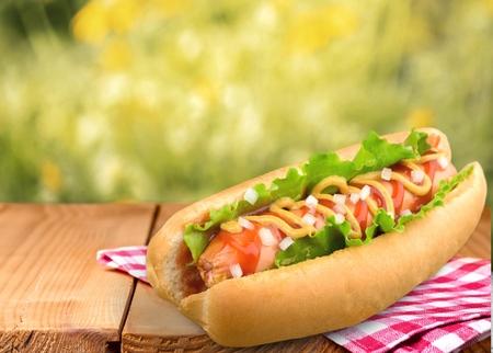Hot Dog, comida, comida rápida.