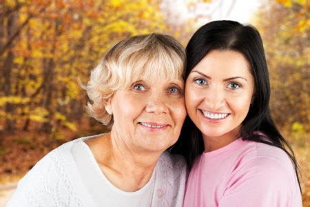 80 plus adult: Asian Ethnicity, Senior Adult, Mother. Stock Photo