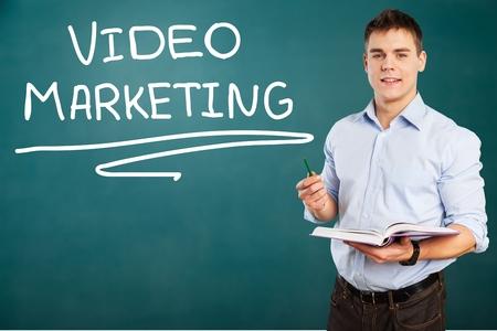 business education: Business Education, learn, teacher. Stock Photo