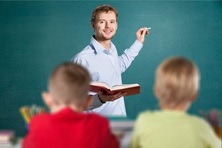 grade school age: Education, Classroom, School.
