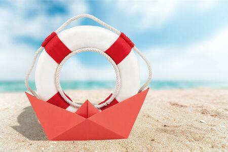 buoy: Life Buoy, Protection, Buoy. Stock Photo
