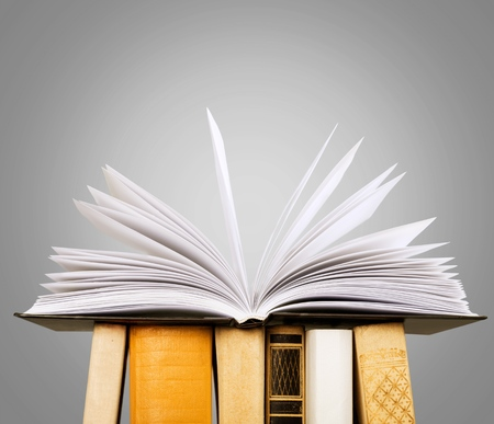 history icon: Book, business, closeup.