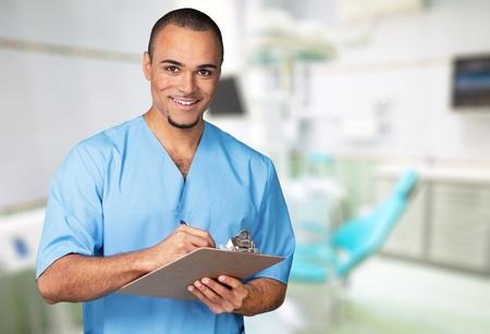 nurses: Doctor, Healthcare And Medicine, Nurse. Stock Photo