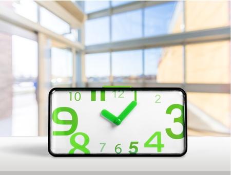digital display: Alarm Clock, Clock, Digital Display. Stock Photo