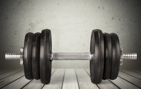 heavy weight: Dumbbell, Barbell, Weights.