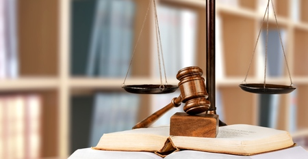 legal books: Justice, law, legal. Stock Photo