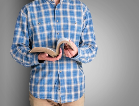 holding bible: Book, Reading, Bible.