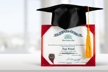 mortar board: Diploma, Graduation, Mortar Board.