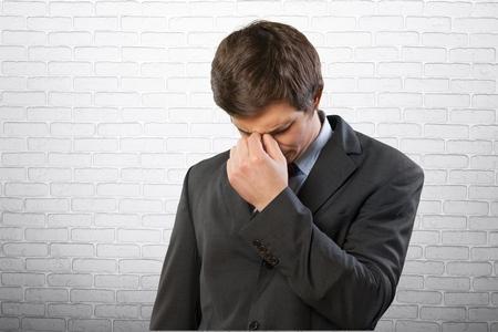distraught: Patient, Stroke, Men.