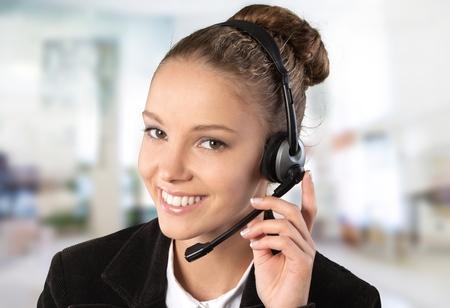 Call Center, représentant du service à la clientèle, Service. Banque d'images
