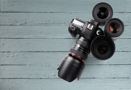 optical instrument: Camera.