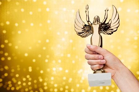 academy: Academy Awards, Award, Trophy.