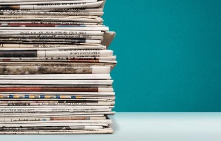 newspaper stack: Newspaper, Stack, Print Media.