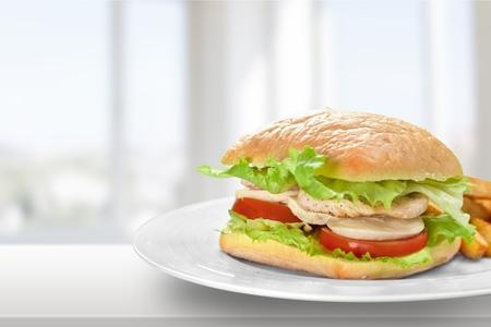 ciabatta: Sandwich, Ciabatta, Ham.