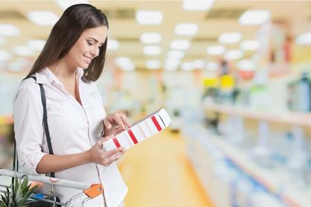 Supermarkt. Stockfoto