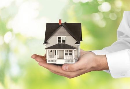 Human Hand, House, Real Estate.