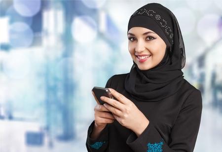 fille arabe: Chef, arabe. Banque d'images