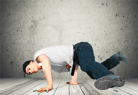 breakdancing: Breakdancing, Dancing, People. Stock Photo