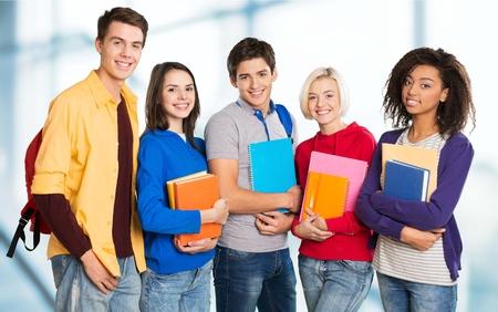 estudiantes universitarios: Los estudiantes, grupo, universidad.