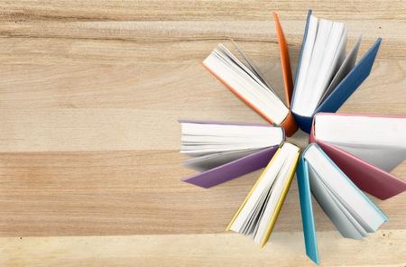 Książki, nauka, literatura.