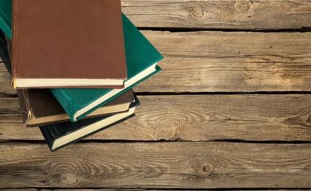 apilar: Libro, vista desde arriba. Foto de archivo