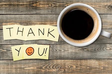 gratefulness: Gracias, Gratitud, cara sonriente. Foto de archivo
