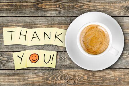 Thank You, Gratitude, Smiley Face. Stock Photo - 43256423