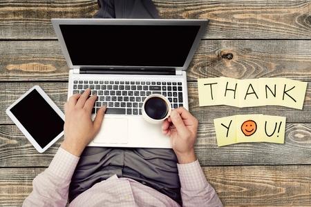 merci: Merci, Gratitude, Smiley.