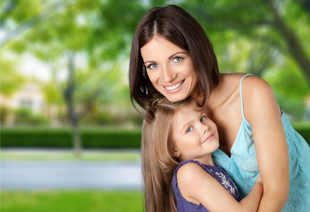 women's issues: Mother, Child, Women. Stock Photo