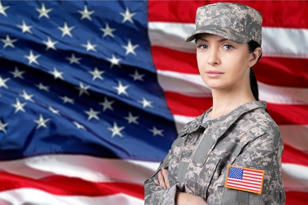 armed: Armed Forces, Military, Female.