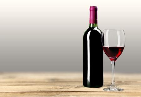 Weinflasche, Wein, Flasche. Standard-Bild - 43291146