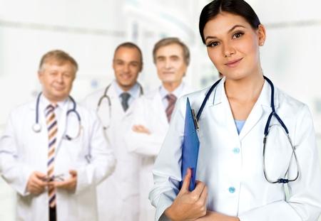 medical doctors: Doctor, Healthcare And Medicine, Hospital.