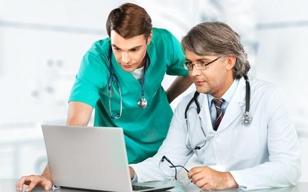 medicina: Doctor, Asistencia sanitaria y medicina, Hospital. Foto de archivo