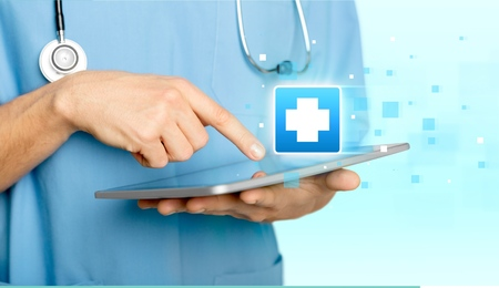electrical equipment: Healthcare And Medicine, Medical Record, Electrical Equipment. Stock Photo