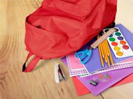 micro drive: Back to School, Education, School Supplies. Stock Photo