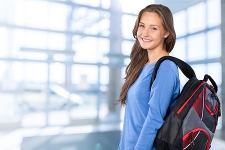 junge nackte frau: Student, Teenager-Alter, Bildung.