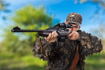 Hunter, de chasse, Fusil.