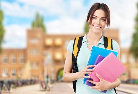 estudiantes universitarios: Estudiante, Estudiante universitario de la Universidad.