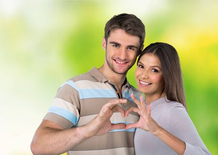 heart in hand: Valentines, love, day. Stock Photo